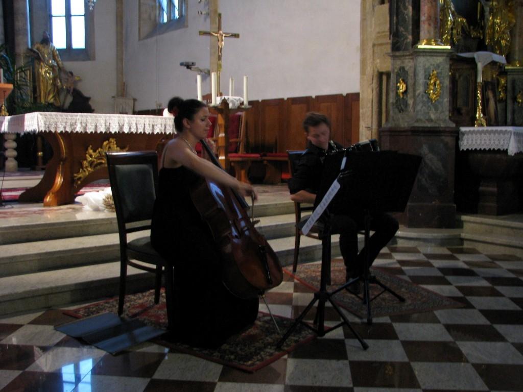 IDuo Vita & Žan v cerkvi Sv. Lenarta