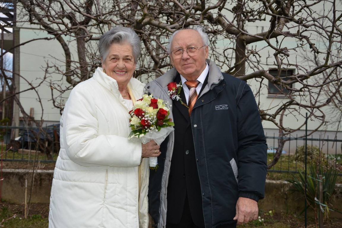 IBisernoporočno slavje Marije in Ivana Vršič iz Maribora